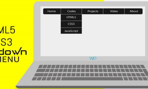 CSS3 Pure Drop Down Menu with Source Code