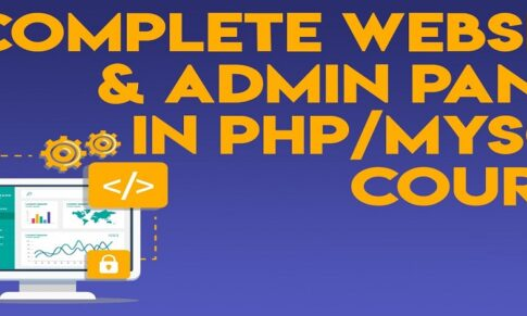Complete Website & Admin Panel in PHP/MySQL (Urdu/Hindi)