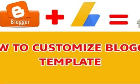How to Customize each part of a Blogger Template in Urdu