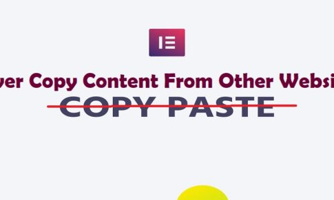 Never Copy Content From Other Websites