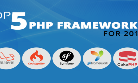 Top 5 PHP Frameworks in 2018
