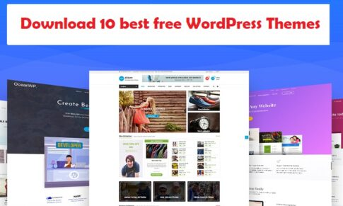 Download 10 best free WordPress Themes